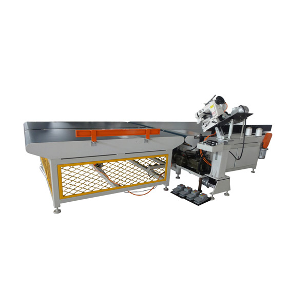 Auto tape edge machine