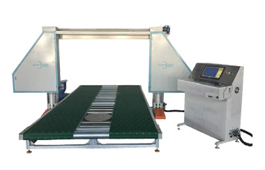 Sponge cutting machine running with what are the basic characteristics?